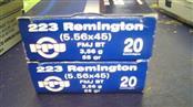 PPU AMMUNITION Ammunition PPU 5.56X45 M193